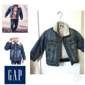 Gap icon Sherpa denim Jacket